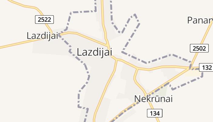 Lazdijai online kaart