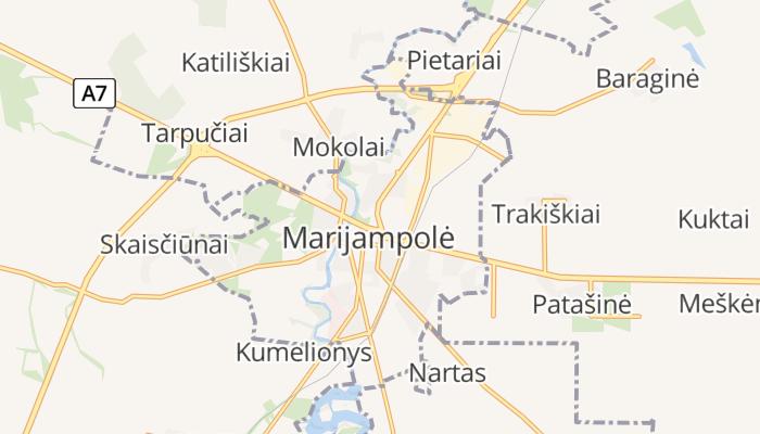 Marijampolė online kaart