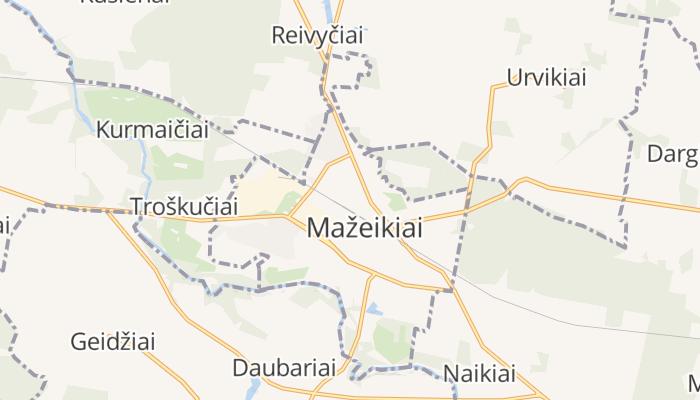 Mažeikiai online kaart
