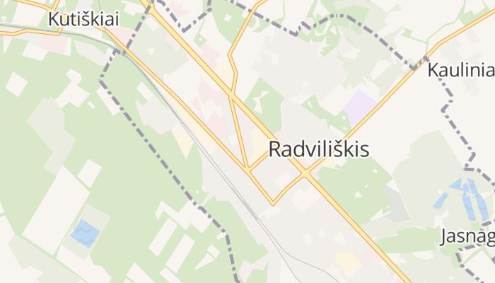 Radviliškis online kaart