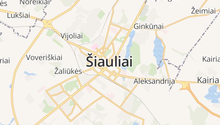 Šiauliai online kaart