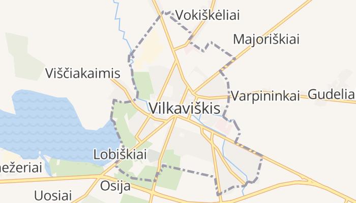 Vilkaviškis online kaart