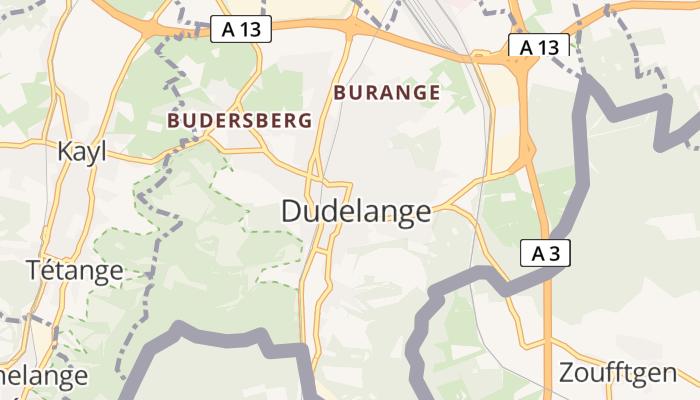 Dudelange online kaart