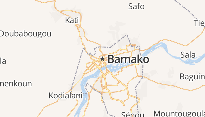 Bamako online kaart