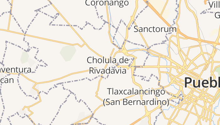 Cholula online kaart
