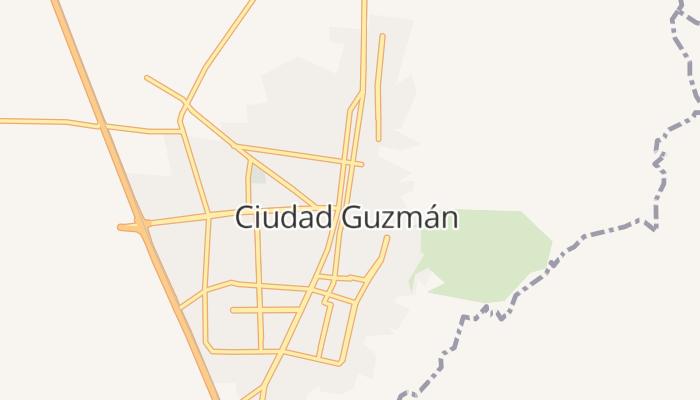 Ciudad Guzmán online kaart