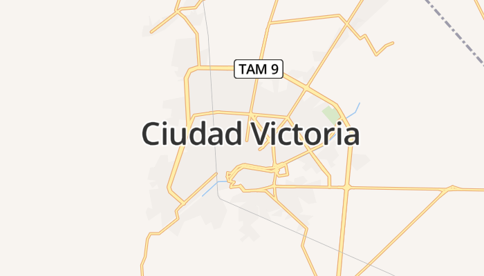 Ciudad Victoria online kaart