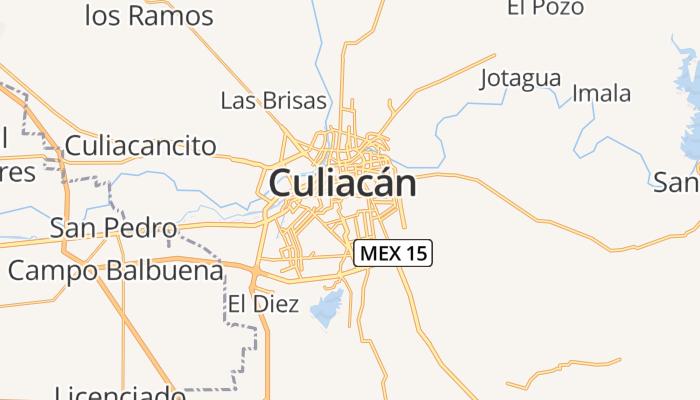 Culiacán online kaart