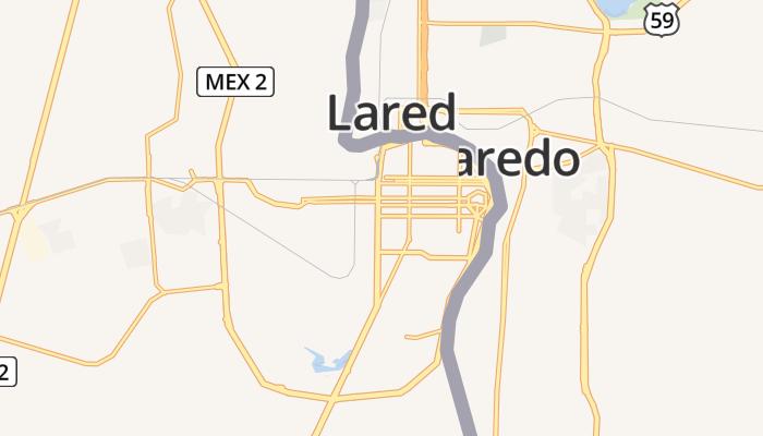 Nuevo Laredo online kaart
