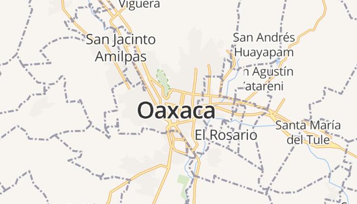 Oaxaca de Juárez online kaart