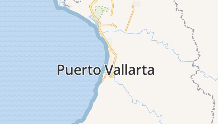Puerto Vallarta online kaart