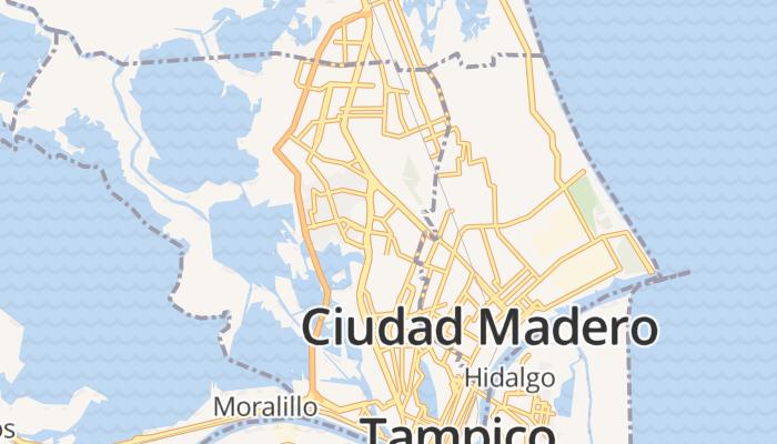 Tampico online kaart