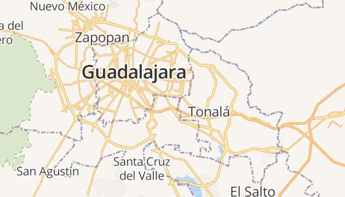 San Pedro Tlaquepaque online kaart