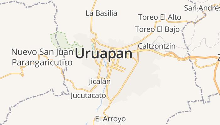 Uruapan del Progreso online kaart