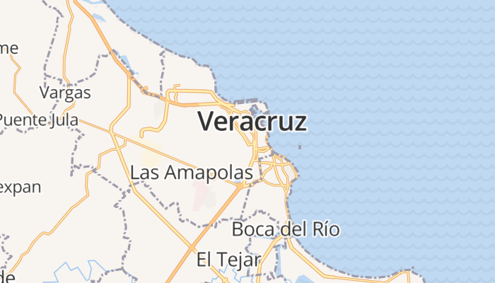 Veracruz Llave online kaart