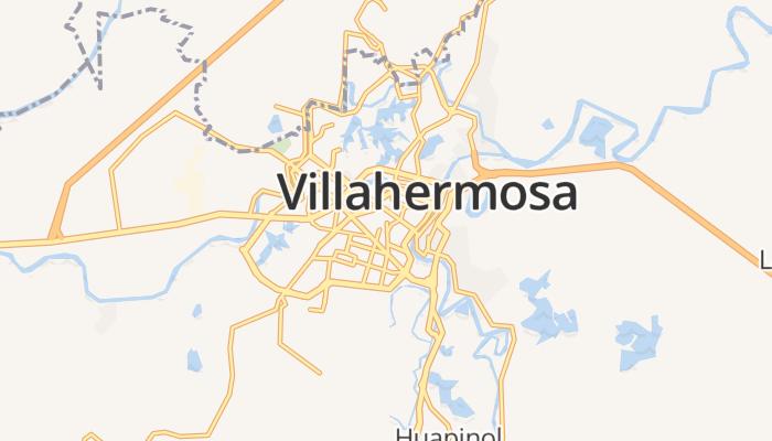Villahermosa online kaart