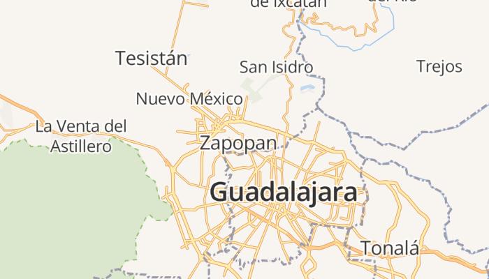 Zapopan online kaart