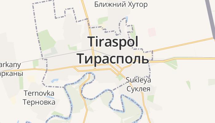 Tiraspol online kaart