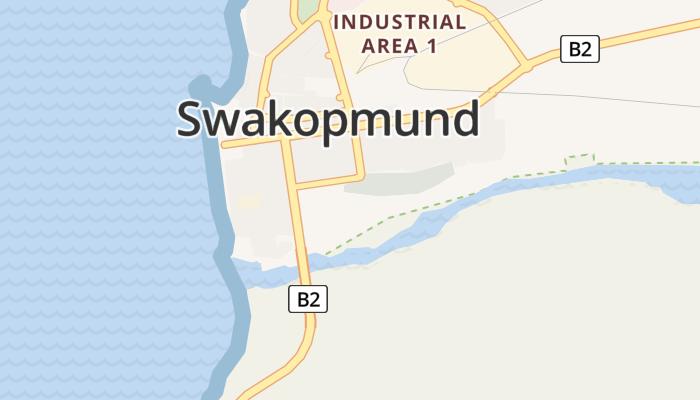 Swakopmund online kaart