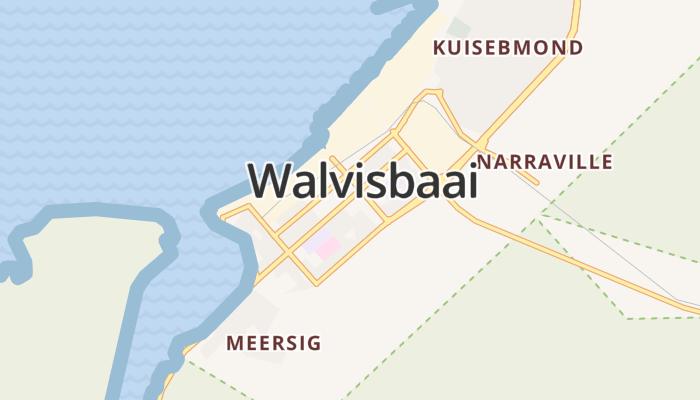 Walvisbaai online kaart