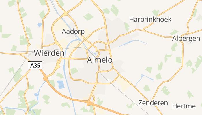 Almelo online kaart