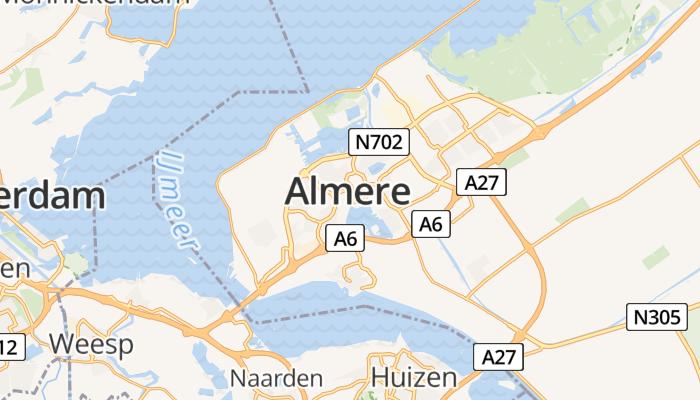 Almere online kaart
