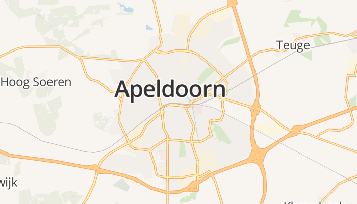 Apeldoorn online kaart