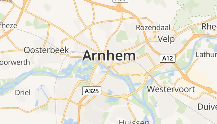 Arnhem online kaart