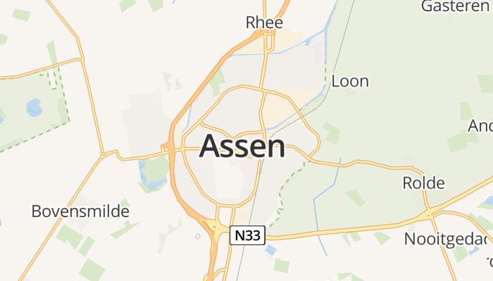 Assen online kaart