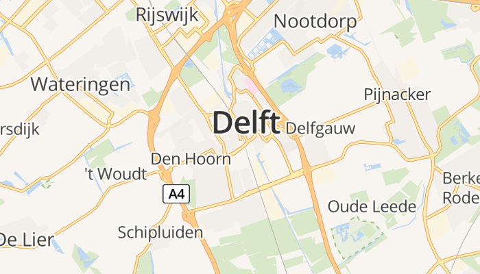 Delft online kaart