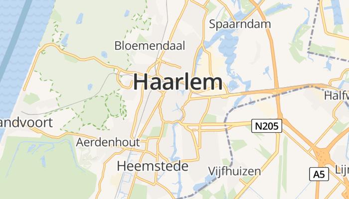 Haarlem online kaart