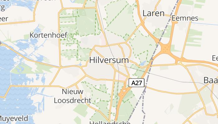 Hilversum online kaart