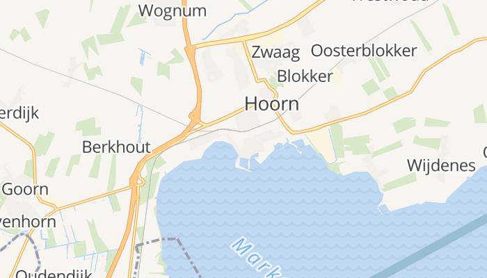Hoorn online kaart