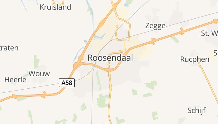 Roosendaal online kaart