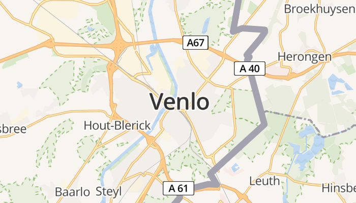 Venlo online kaart