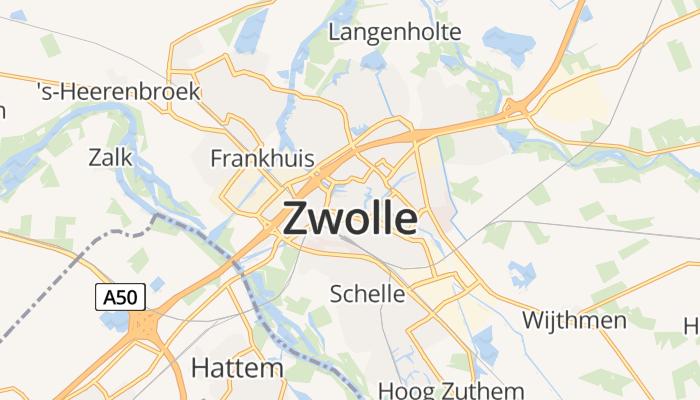 Zwolle online kaart