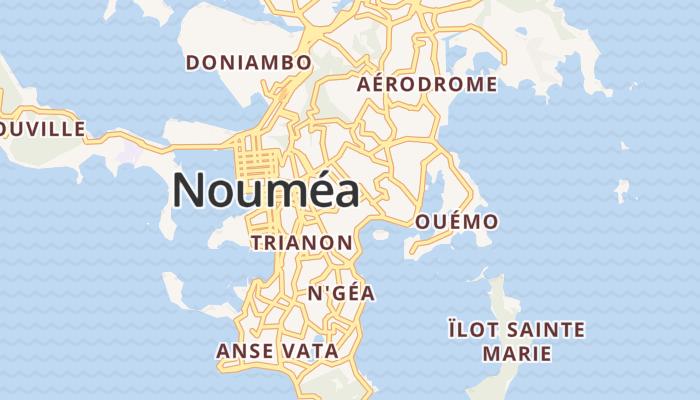 Nouméa online kaart