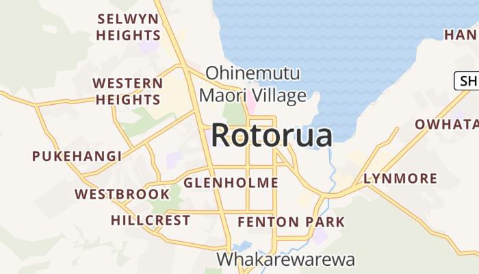 Rotorua online kaart