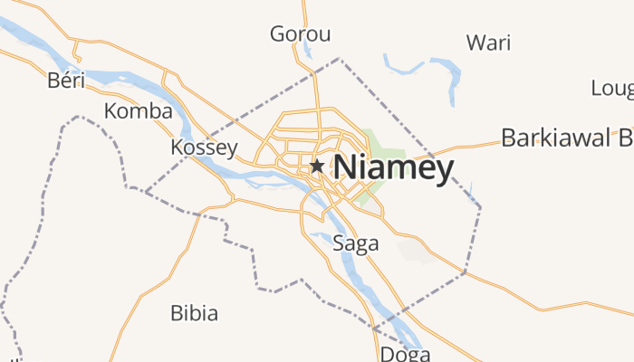 Niamey online kaart