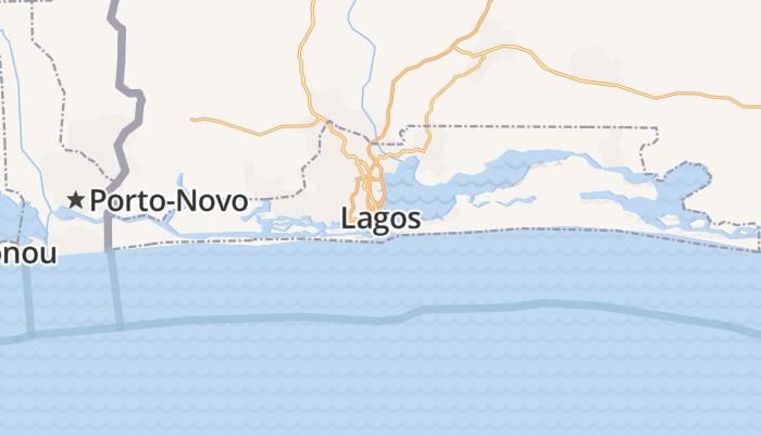Lagos online kaart