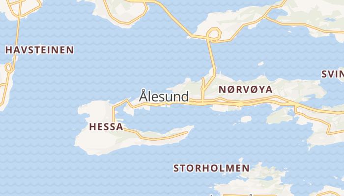 Ålesund online kaart
