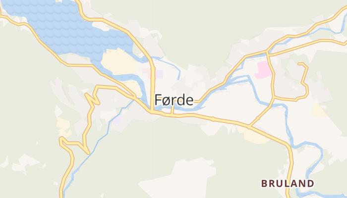 Førde online kaart