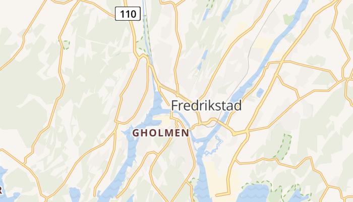 Fredrikstad online kaart