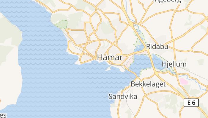 Hamar online kaart