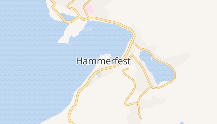 Hammerfest online kaart