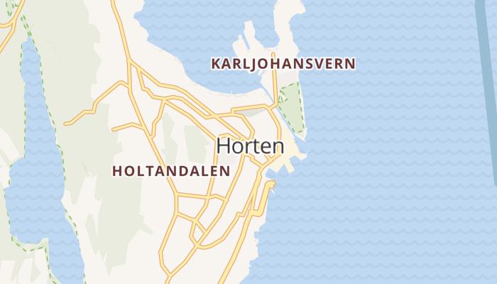 Horten online kaart