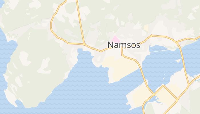 Namsos online kaart