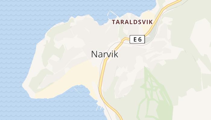 Narvik online kaart