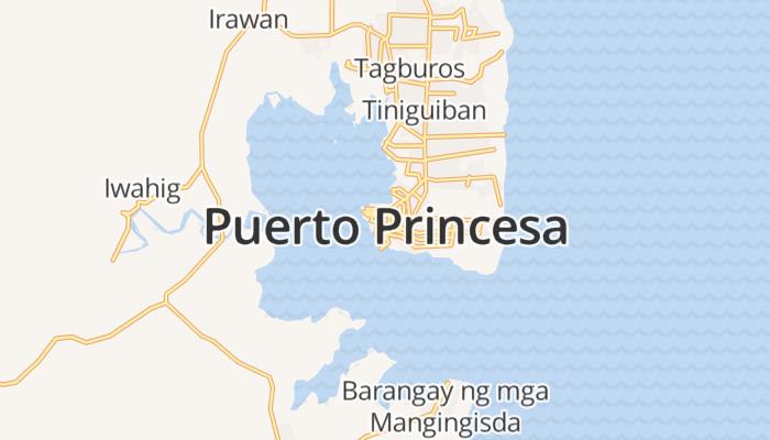 Puerto Princesa City online kaart