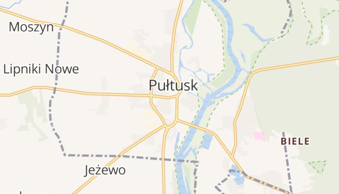 Pułtusk online kaart